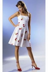 От жары спасает и на званый вечер выпускает платье-сарафан