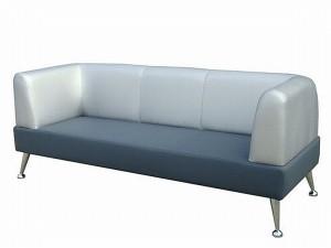 Кожаный диван – современный стиль