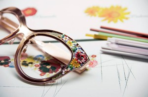 Цветочная тема солнцезащитных очков для женщин