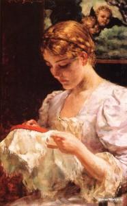 Вышивка на пяльцах – самый женский подарок для родственников