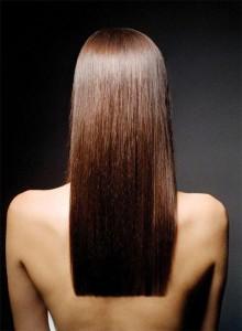 Девушка-русалка, или красота прямых волос