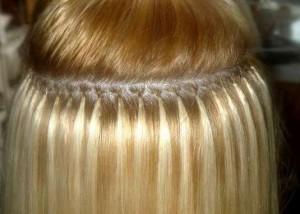 Технология наращивания волос: кератиновый способ так ли безвреден?