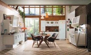 Холодильники в многочисленных проектах современных кухонь