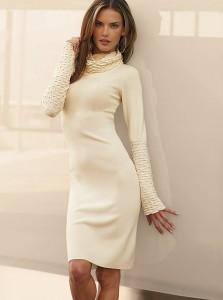 Теплые платья – атрибут осенних холодов