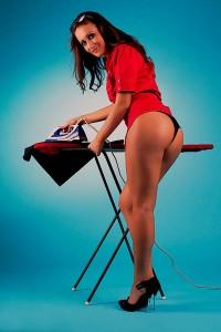 Как правильно гладить юбку с оборками