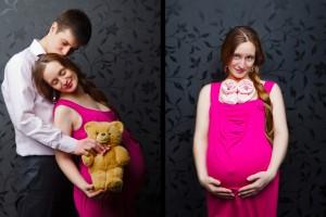 Как одеваться на восьмом месяце беременности?