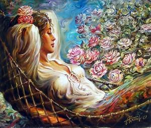 О каких цветах мечтает женщина