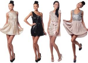 Гардероб современной женщины: платье из пайеток