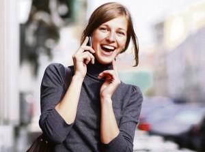 Мобильная связь – необходимое условие существование российских женщин