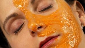 Маска из тыквы: лечим шелушащееся лицо