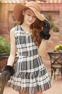 Платья в крупную клетку: что ждать от моды 2014