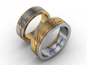 Гравировка позволяет сделать уникальным подарком любое кольцо