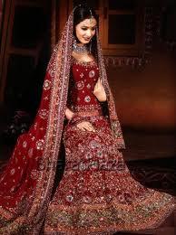 Свадебное платье индийской, китайской и японской невесты