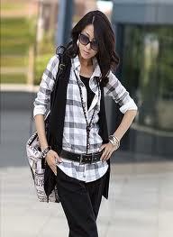 Клетчатая мода: стильные рубашки для девушек