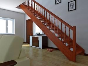 Какие материалы наиболее приемлемы для изготовления лестниц?