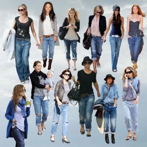 Популярные модели женских джинсов