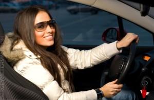 Женщина за рулём: мифы и реальность.