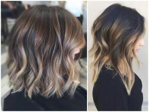 Главные особенности методики окрашивания волос балаяж