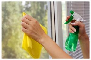 Наводим чистоту в доме