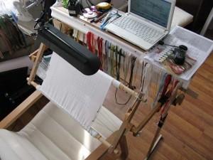 Как оборудовать рабочее место вышивальщицы?