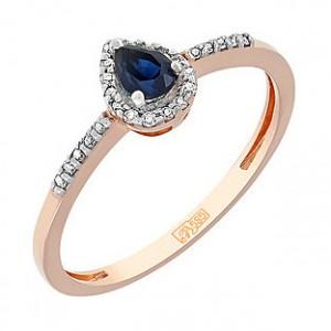 Золотые кольца с сапфиром или как не ошибиться с подарком для любимой женщины
