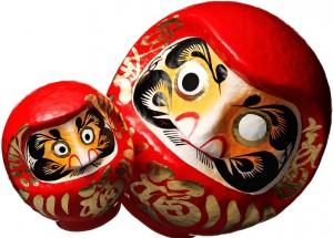 Дарума – уникальный сувенир из Японии