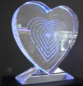 Изящное волшебство – сувенирные 3D кристаллы из хрустального стекла