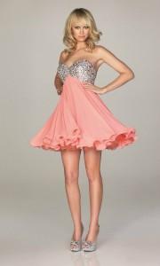 Стиль и мода платьев на выпускной вечер на 2014 год