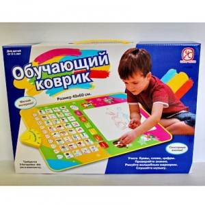 Обучающие коврики или полезное занятие для малышей