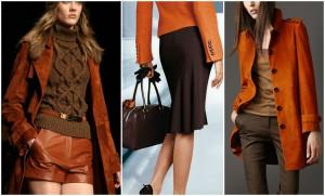 Как носить коричневые цвета осенью?