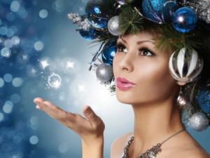 Перманентный макияж и прическа в новогоднюю ночь