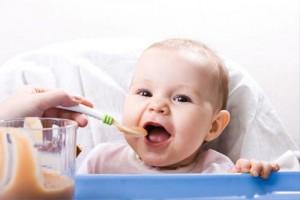 Расширение рациона питания для младенцев