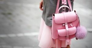 Кожаный рюкзак - модный женский аксессуар