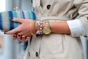 Можно ли носить женские часы одновременно с браслетом?