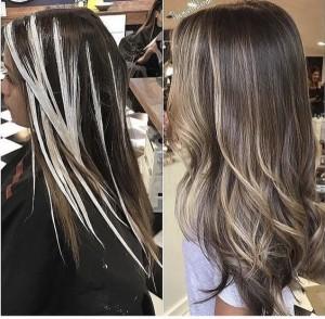 Окрашивание волос в салоне красоты Априори в СПб