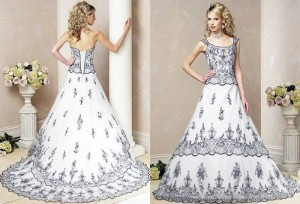 Не только белый! Самые модные цвета свадебных платьев