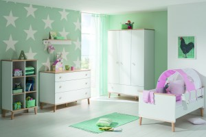 Комната для девочки без розового цвета
