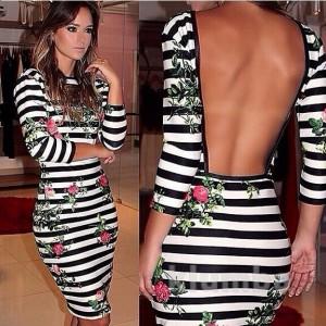 Хит лета: платье с открытой спиной