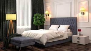 Уют в доме: практичные украшения кровати