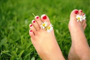 Красивые ножки в домашних условиях