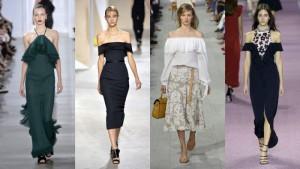 Модные тенденции в женской моде летом 2016