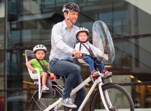 Какое велокресло выбрать для ребенка?