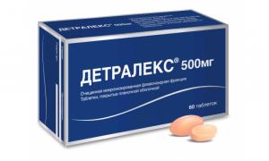 Детралекс: особенности препарата