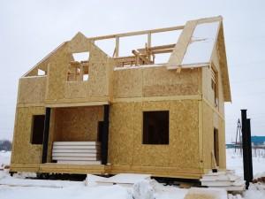 Плюсы домов из СИП-панелей