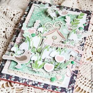 Бумага для скрапбукинга как лучик радости. Счастье не купить, счастье можно сделать.