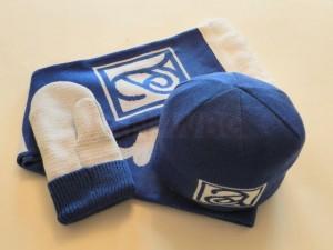 Шапки и шарфы с логотипом