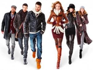 Виды контрастов в выборе одежды