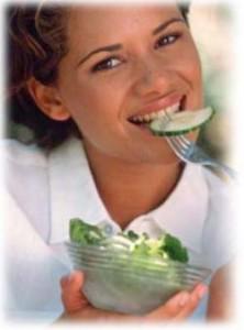 Главные овощи в рационе женщины