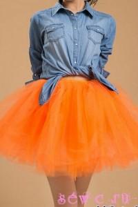 Юбка пачка – модная вещь женского гардероба