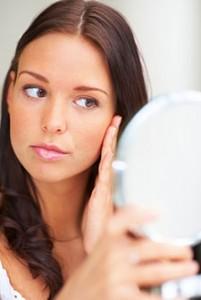 Реакция женской кожи на косметические средства